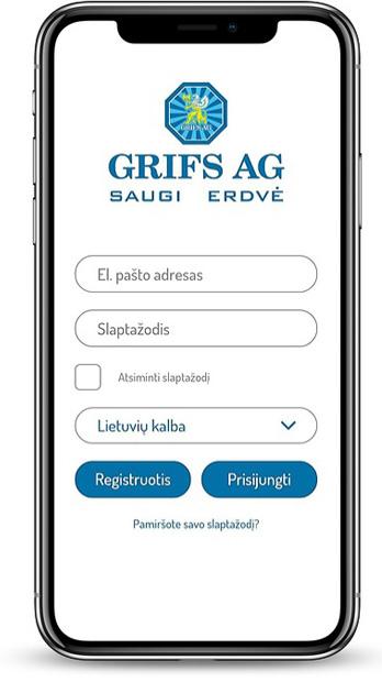 Grifs AG Išmanioji apsauga